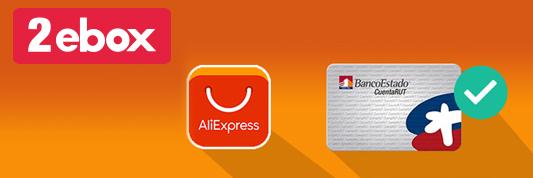 Cómo comprar en Aliexpress desde Chile con cuenta Rut